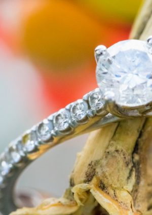 Een persoonlijke diamanten ring
